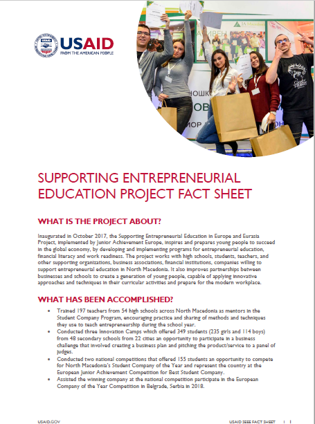 Supporting Entrepreneurial Education in Europe and Eurasia
