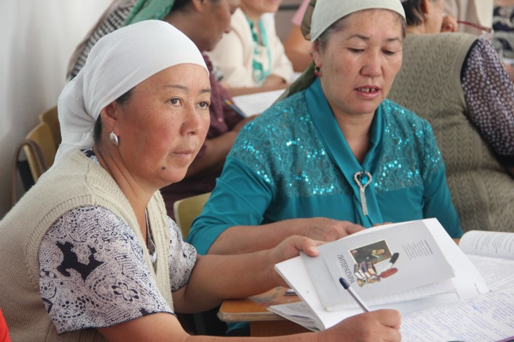 USAID programs help to empower women in the Kyrgyz Republic