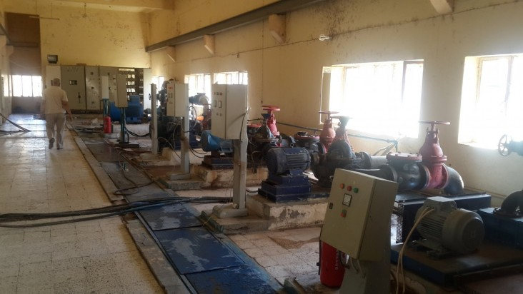 With USAID support, UNDP repair of control water pumps in Ramadi will provide much-needed water to more than 200,000 residents.