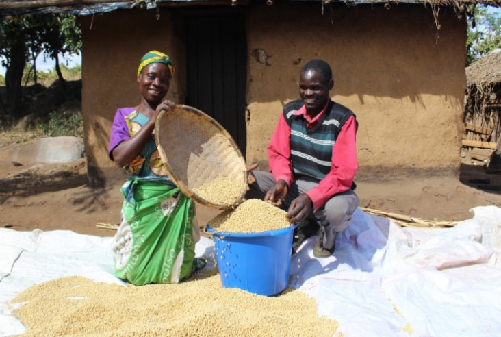 USAID promotes soy and other value chains for improved nutrition and income for smallholder farmers, including women.