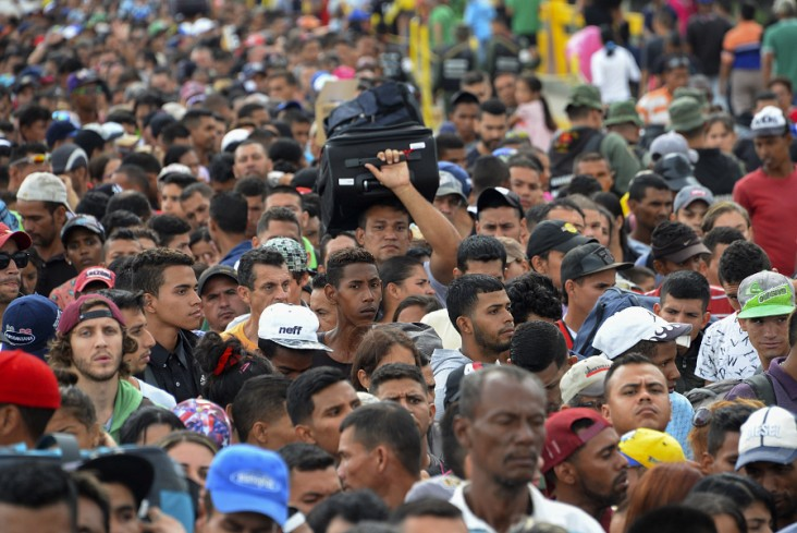 The U.S. is providing humanitarian assistance for people fleeing crisis in Venezuela.