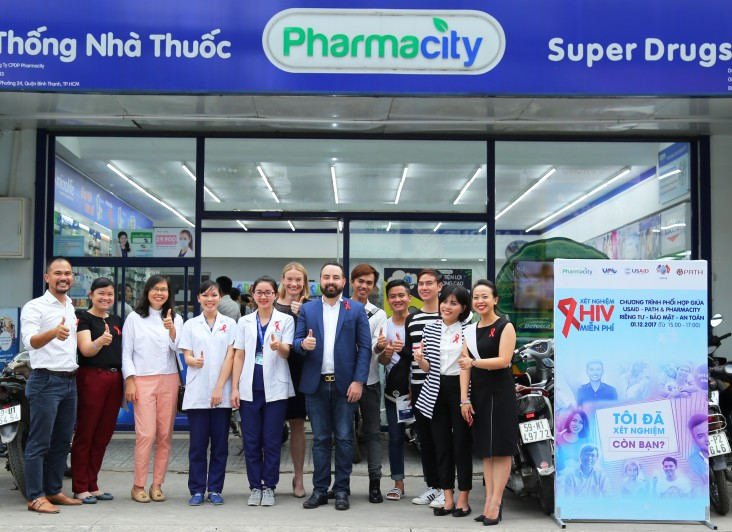 USAID's Healthy Markets project has partnered with PharmaCity, a private pharmacy chain, to promote HIV self-testing for the first time in Vietnam.