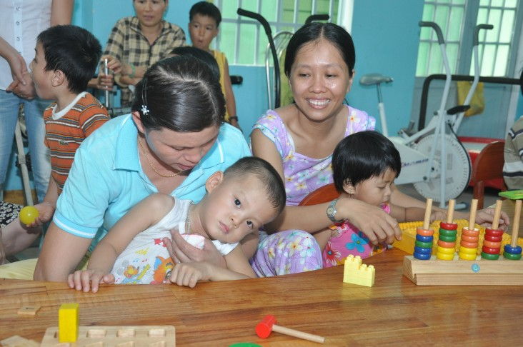 USAID supports persons with disabilities in Danang.