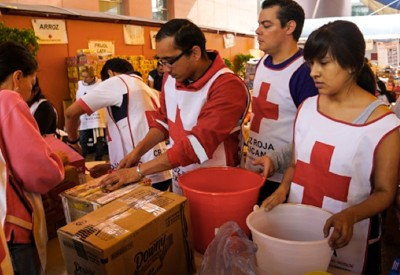 USAID partnered with the Mexican Red Cross