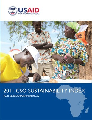 Cover: 2011 CSO Sustainability Index for Sub-Saharan Africa