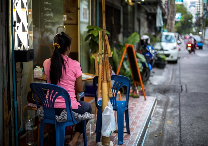 Street scene in Asia: The issue of human trafficking has become a global concern, and most directly affects Asia.