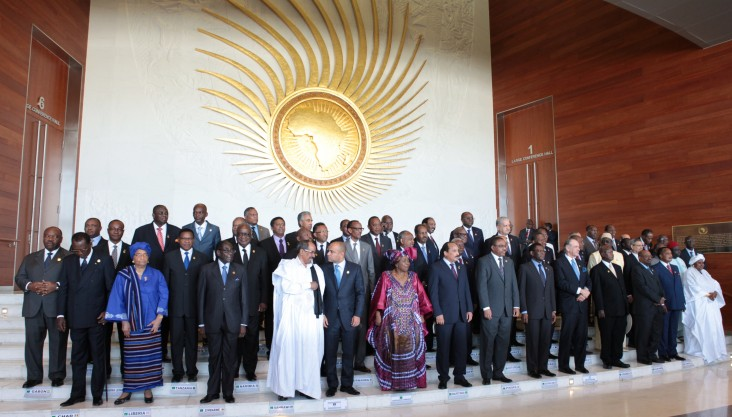 AU opening session of the 22nd ordinary meeting of the assembly of the African Union 2014. Photo Credit: AU