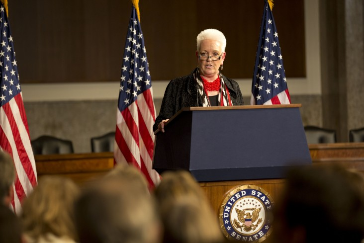 Administrator Gayle Smith, March 9, 2016. Photo: Ellie Van Houtte / USAID.  Click to view video of this event.
