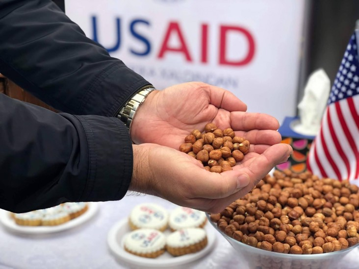 Hazelnuts are one of the main high value Azerbaijani products with greater export potential.