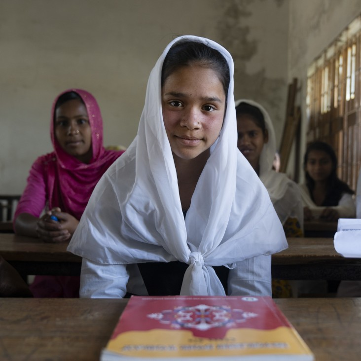USAID education activities in Bangladesh nurture the untapped potential of school children, particularly among poor and disadvantaged families, helping them achieve their full learning capacity.