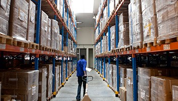 ARVs, test kits, laboratory supplies, and other commodities in warehouse