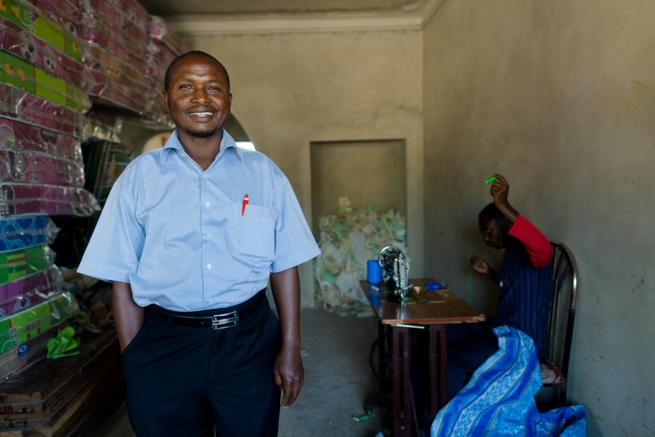 DCA borrower John Warugaba's mattress and cake making business in Mbarara, Uganda