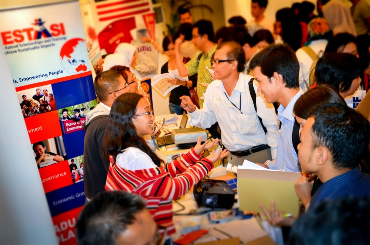 Scholarship USAID candidates Exhibition Higher Education