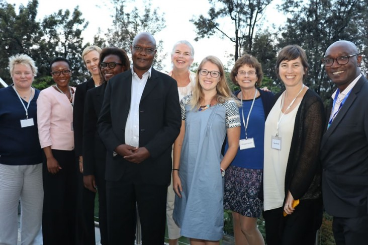 The ADVANCE leadership team at a recent meeting in Rwanda. Photo credit: IAVI