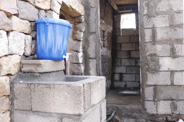 After: Clean water is now available to 300 families.