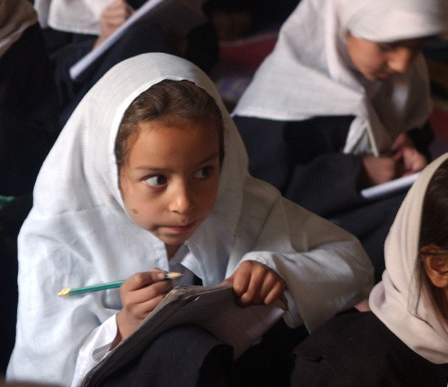 The United States is a major contributor to literacy education in Afghanistan.