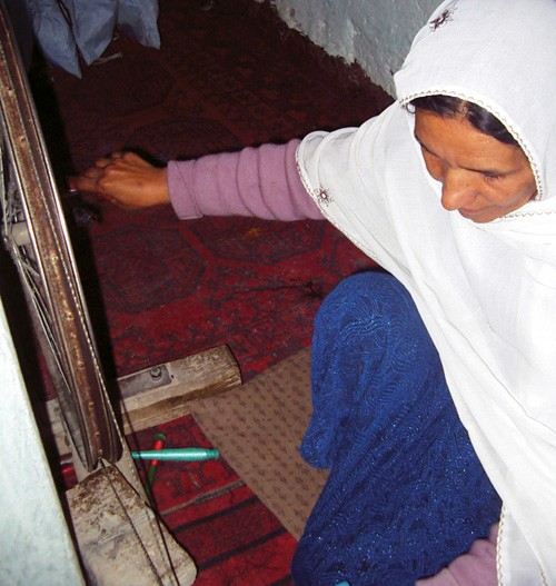 Nooria is one of many Afghan widows whose life dramatically improved thanks to the USAID ASMED project.