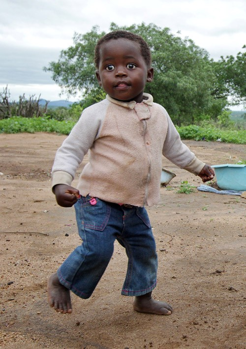 Phiwa, now 2 years old, loves to dance.