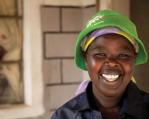 Mary Rono's entrepreneurial spirit and leadership helped her community survive the deadly drought and famine that struck the Rif