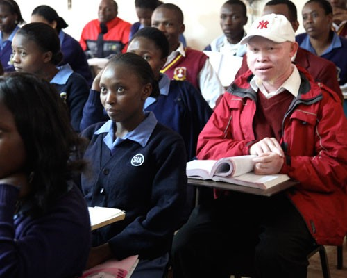 "The Global Give Back Circle launched a new initiative dubbed the ""Window of Opportunity"" for disadvantaged boys, like Jeremiah K"