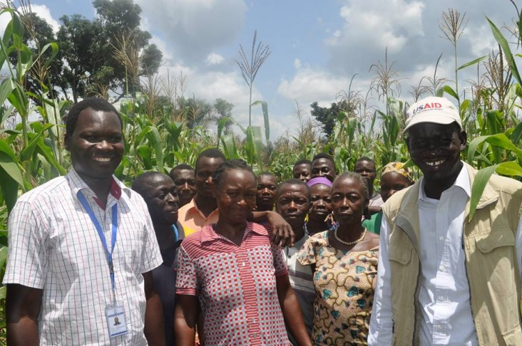 Bethlehem Youth Farmers Group started a demonstration farm near Yambio, South Sudan