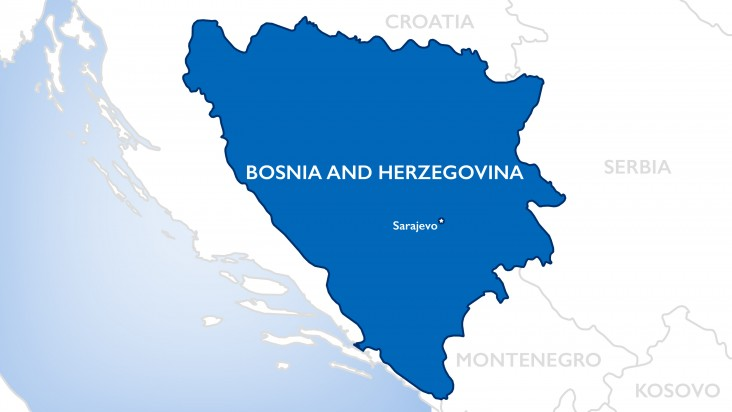 Bosnia Map OTI