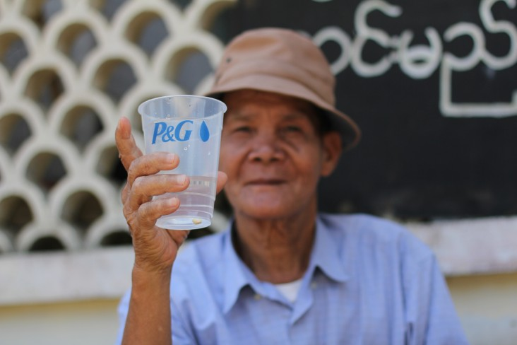 USAID and P&G partner to provide clean drinking water