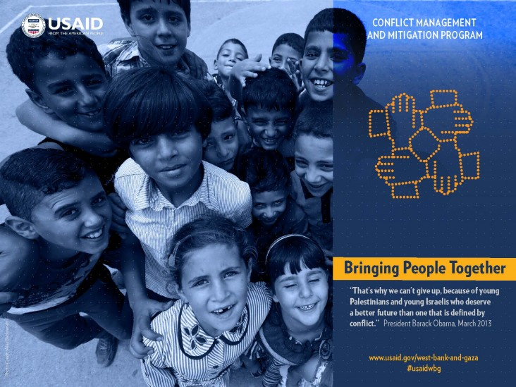 USAID's Conflict Management and Mitigation Program: Bringing People Together in the West Bank and Gaza