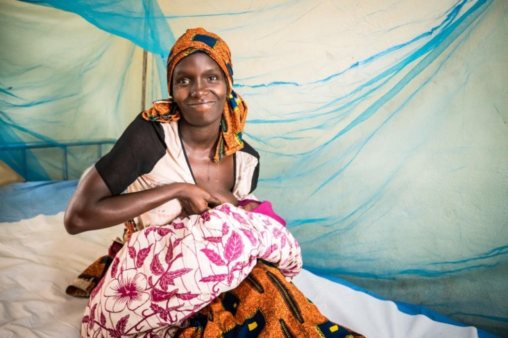 In Sierra Leone, USAID helps improve maternal, child and reproductive health.