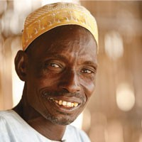 "Community-based service providers know how to work with farmers and businessmen alike,"" says this farmer from Sinthou Fiss"