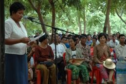 USAID helps Cambodia to strengthen public participation in political processes.