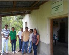 Project and field staff at Hatillo UCOS.