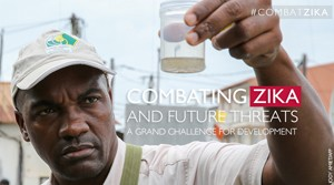 Click to learn more about Combating Zika and Future Threats: A Grand Challenge for Development