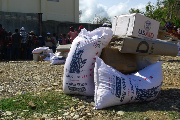 We're helping provide communities in Haiti the tools to return home & rebuild after Hurricane Matthew