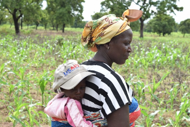 USAID works to give vulnerable farmers in northern Ghana the skills, knowledge and tools to better feed their families.