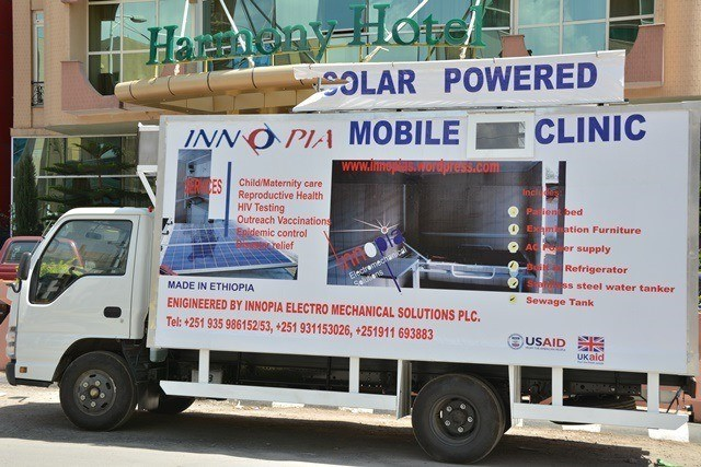 Innopia, one of the Health Enterprise Fund grant recipients, will manufacture and sell a mobile clinic and ambulance.
