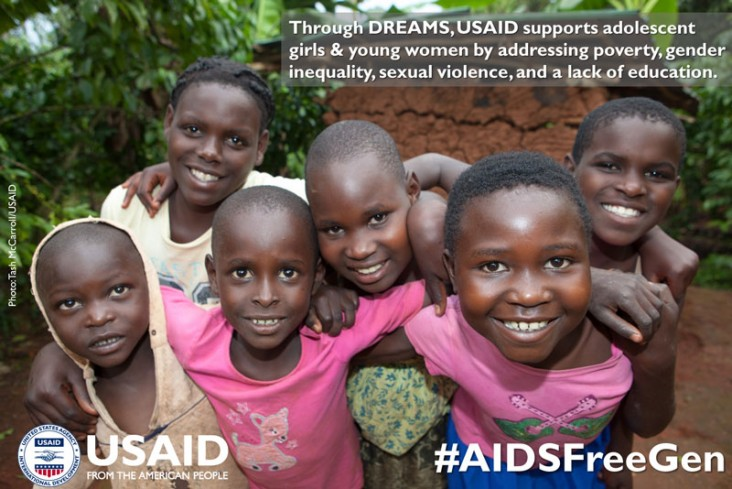 USAID's OVC programming aims to improve the health and well-being of children living with and affected by HIV.