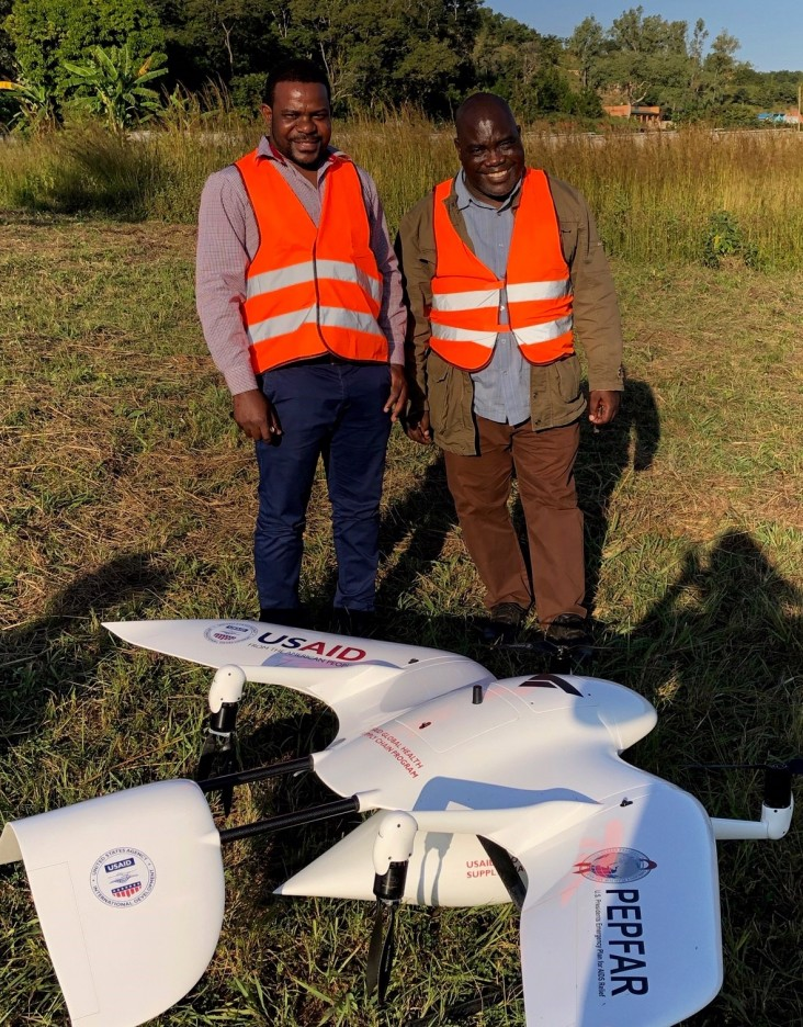 Malawi Drones Delivers Medical Supplies