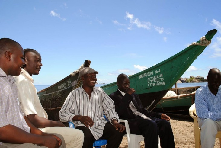 On Dolwe Island in Lake Victoria, community leaders came together to tackle the HIV crisis. q
