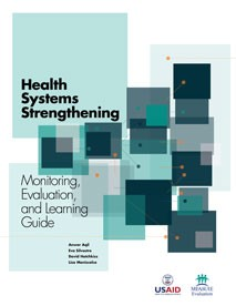 Cover of Health Systems Strengthening - M&E and Learning