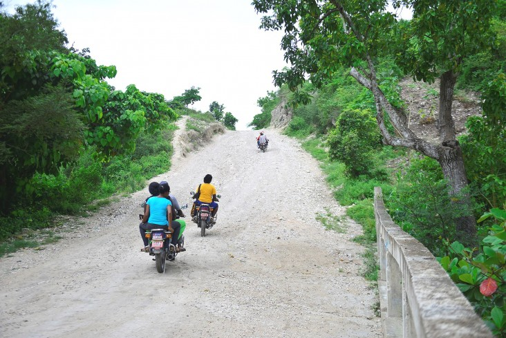 St. Boniface Hospital is located in rural Fond-des-Blancs, Haiti, where many patients come for care via motorcycles over unpaved roads.