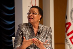 Graça Machel Founder, Foundation for Community Development, Mozambique;  Founder, Graça Machel Trust