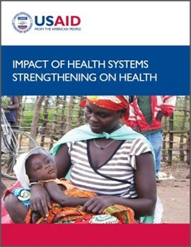 Impact of Health Systems Strengthening on Health Report Cover