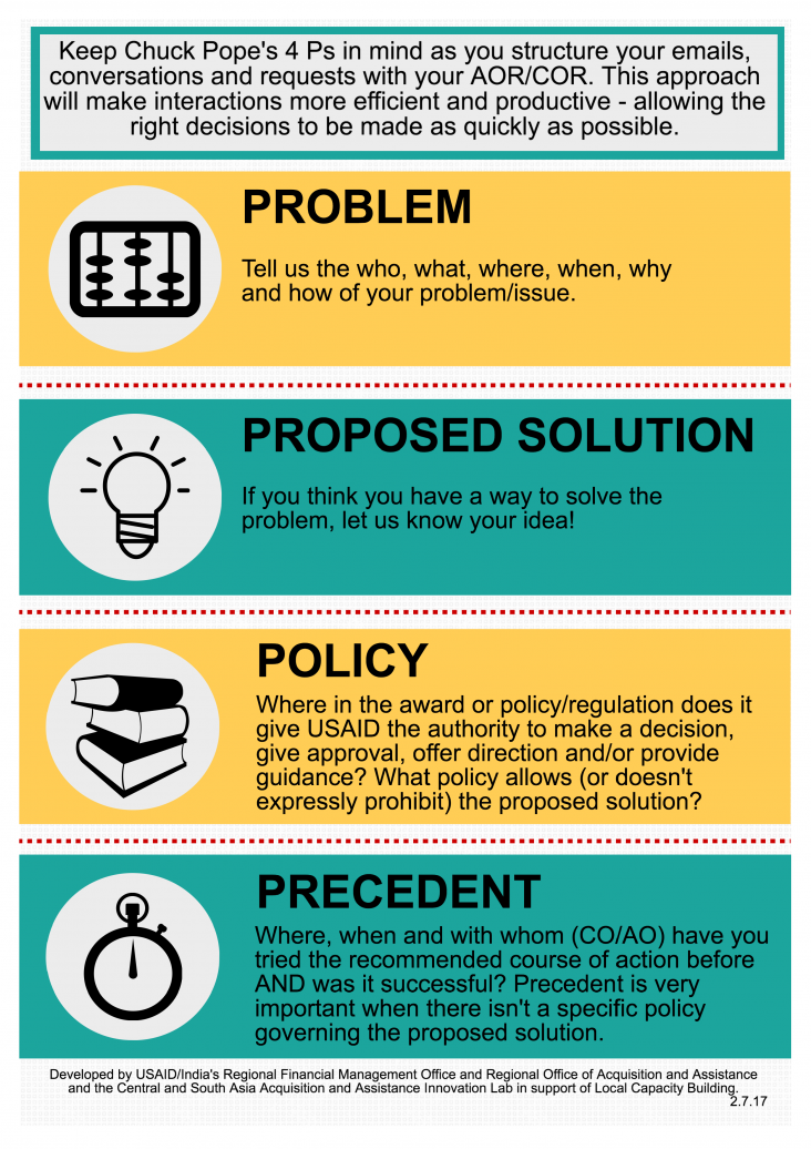 Infographic: The Procurement Chain of Command and Pope's 4 P's of decision-making - Page 2