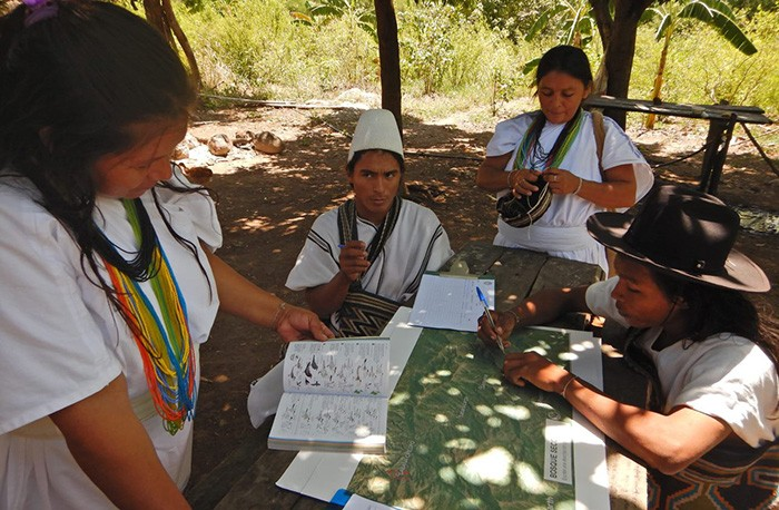 The Indigenous Arhuaco peoples of the Sierra Nevada work to protect Colombia's forests.