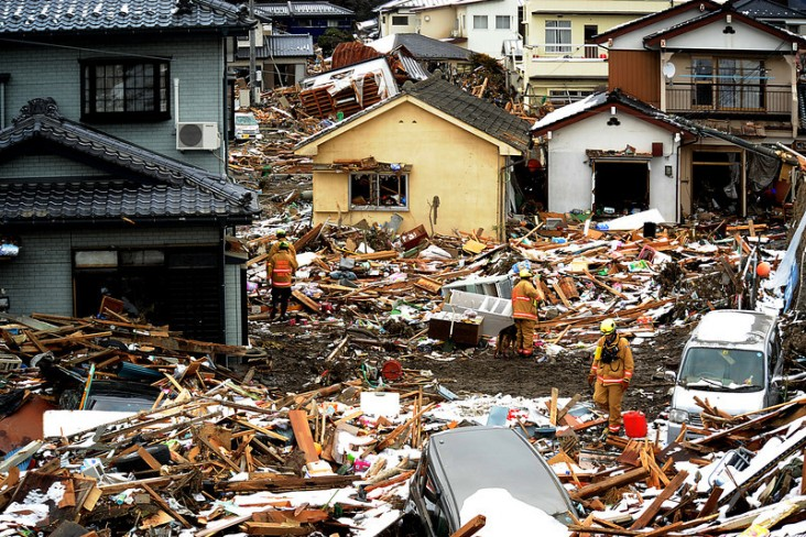 Natural disasters cause more than $100 billion dollars in economic damage every year.