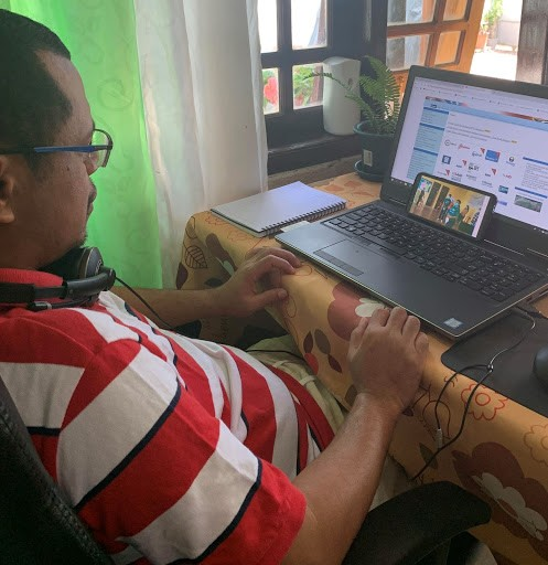 """Germano """"Jerry"""" da Costa Boavida is a Project Management Specialist at USAID/Timor-Leste."""