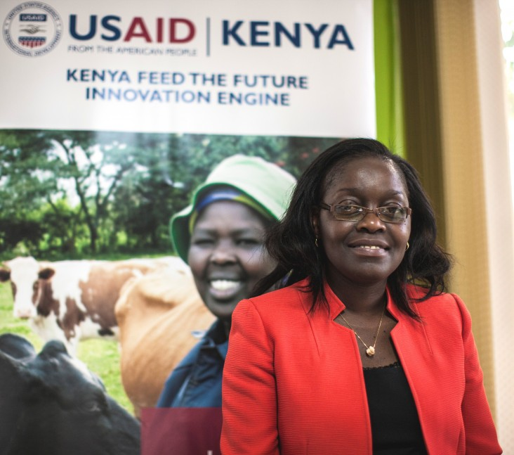 Jane Ambuko, head of the horticulture unit at the University of Nairobi