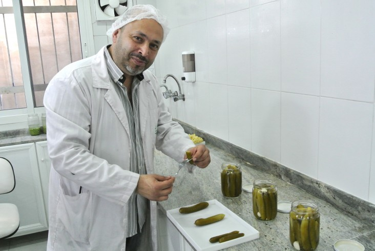 Al Rabih, one of eight pickling food processors that received USAID assistance