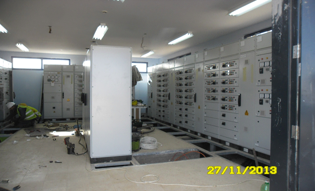 Generator & Electrical Building – Control Panels